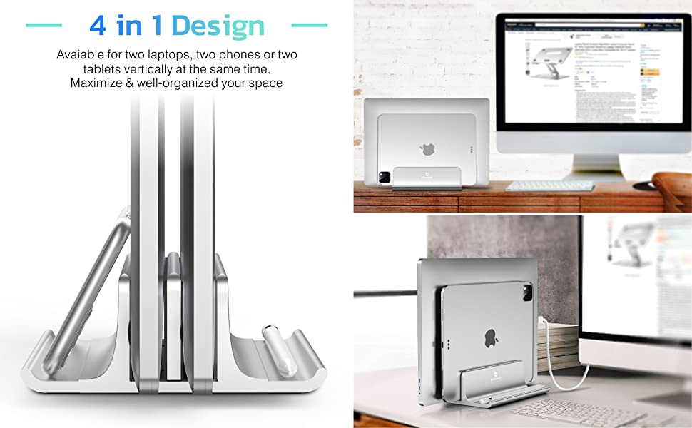 Vertical Laptop Stand 2