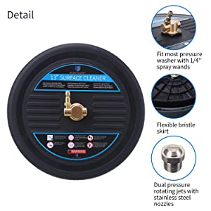 power washer surface cleaner