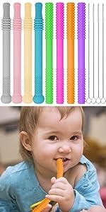 baby teething tubes