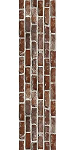 36 Ft Red Color Brick Straight Bulletin Borders