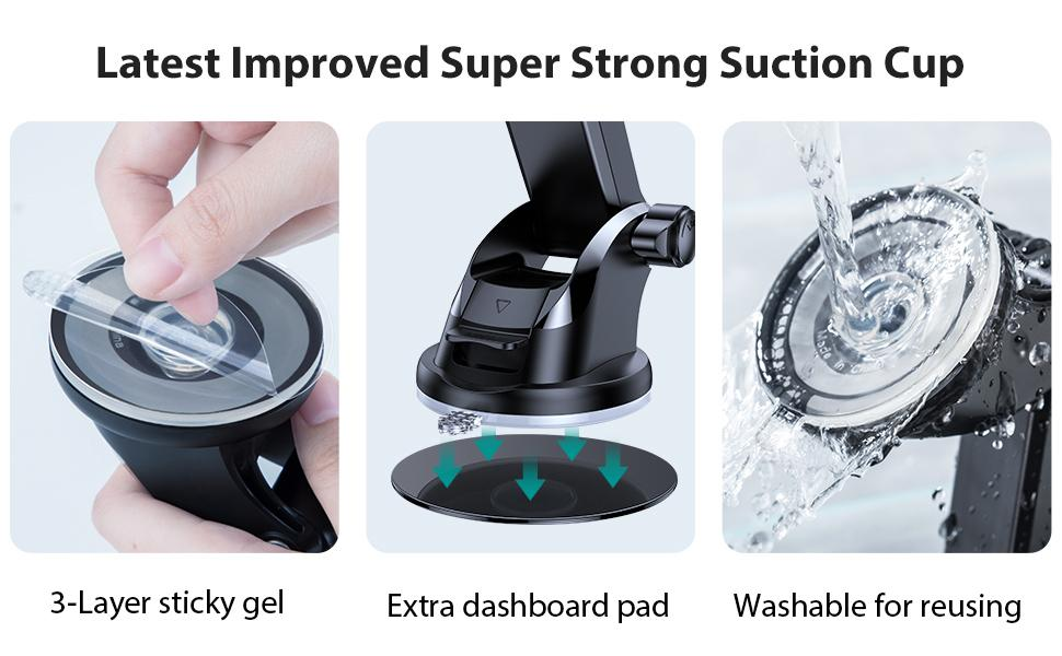 High Quality Ultra Stable amp;amp; Secure Suction Cup Holder for Your Car