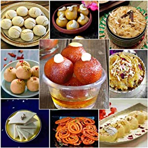 Sweet Dishes With Palm Mishri