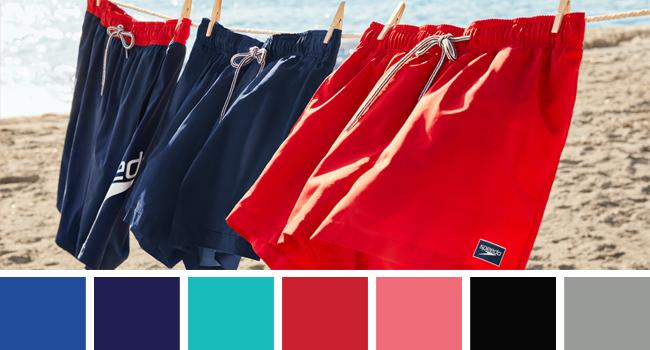 Speedo Men's Swim Trunks Solid Colors
