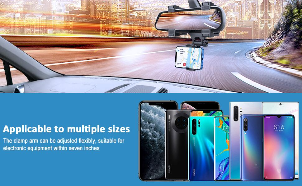 Just Grab & Go with Your Car Phone Holder Mount