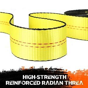 High-Strength Reinforced Radian Thread