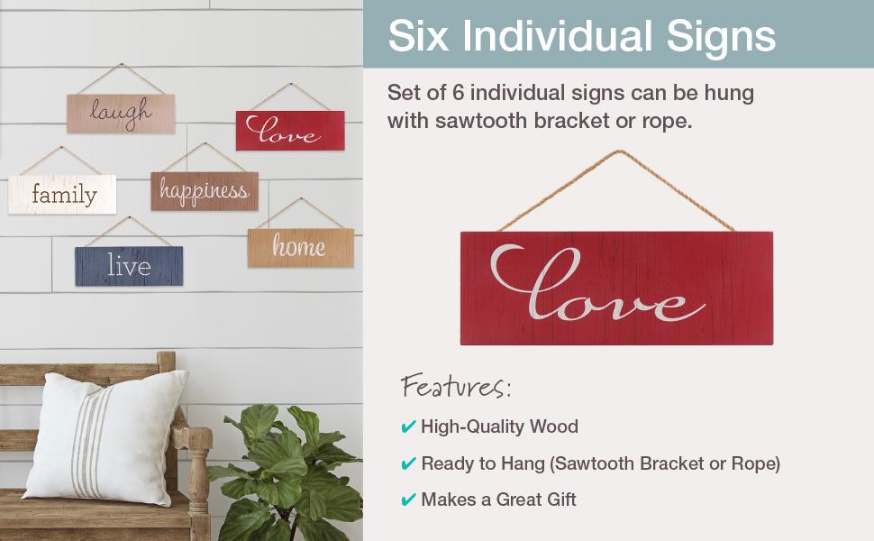 Individual Hanging Signs