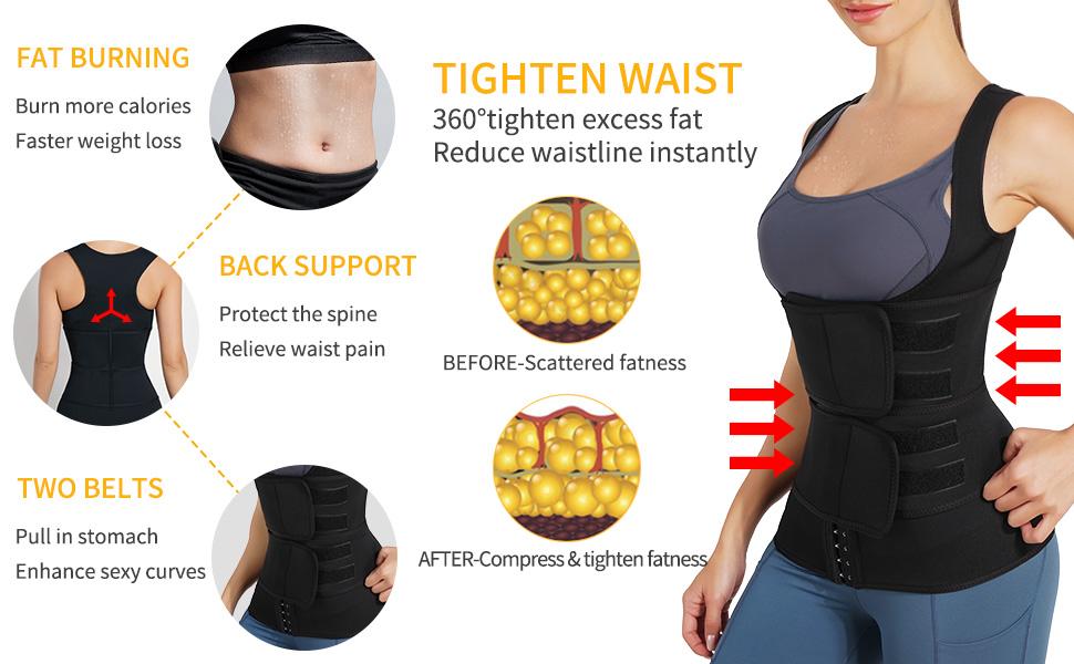 waist trainer shirt