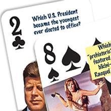 Trivia on every card!