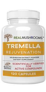 real mushrooms tremella mushroom extract