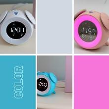 Clock Color Choices