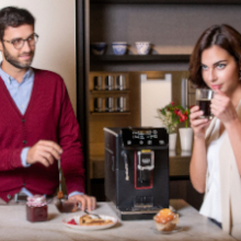 When brewing espresso or coffee, the times two feature allows you to prepare two beverages at once.