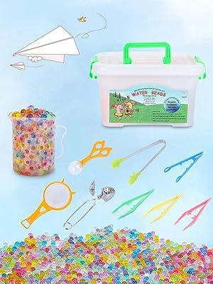 water beads fine motor skills toys set