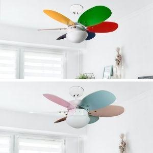 Ventilateur de plafond pour enfant