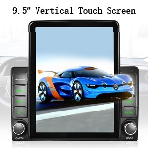 2 Din Android 9.7'' Car Stereo with GPS Bluetooth/WiFi/FM Support Mirror Link SWC Backup Camera