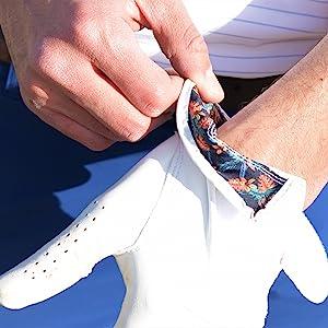 Premium leather golf glove