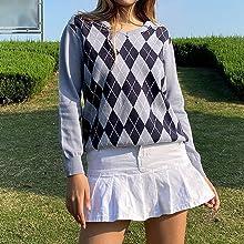 womens y2k sweater tops