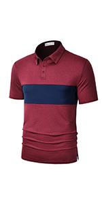 wine golf shirts
