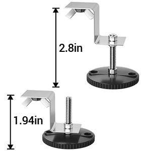 shower drain adjustable feet