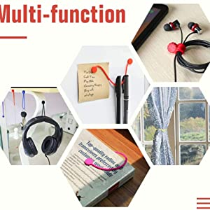 multi usage cable clips