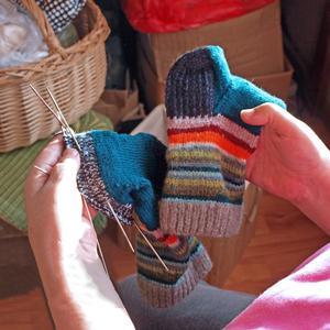 aiguilles à tricoter double pointe