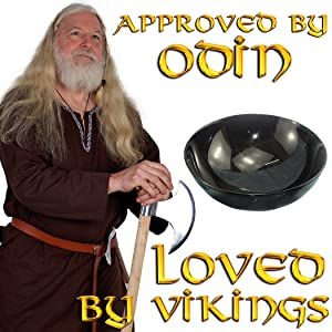 Serving bowl Viking medieval LARP re-enactor costume accessory authentic high quality SCA mythrojan