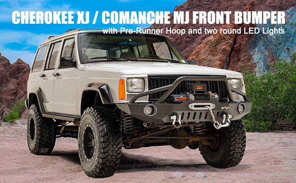 tidal cherokee front bumper