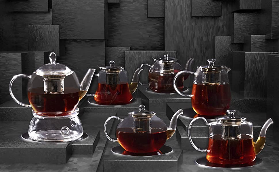 A good variety of elegant, homemade teapots for home, office or cafe is a reasonable investment