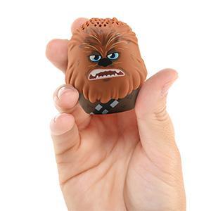 Chewbacca Star Wars Bluetooth Speaker in hand