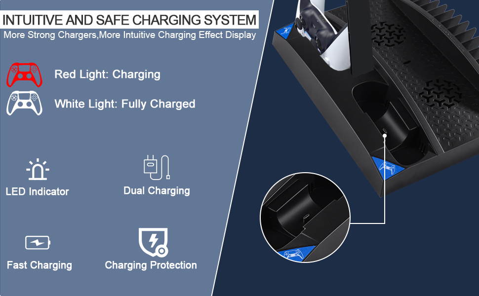 PS5 CHARGING SYSTEM