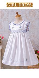 baby girl smocked dresses