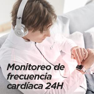 Monitor de frecuencia cardíaca 24H