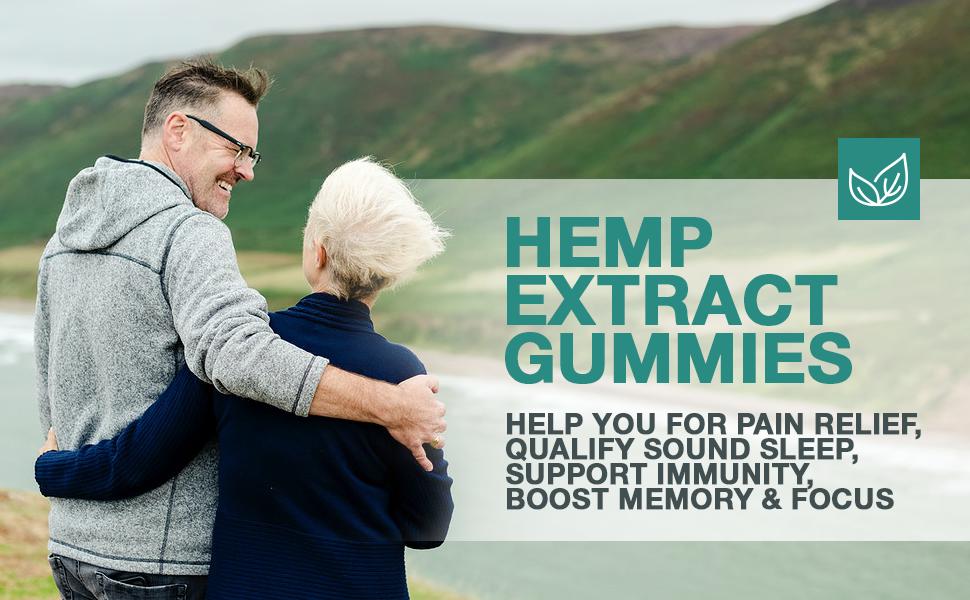 hemp extract gummies support immunity boost memory focus