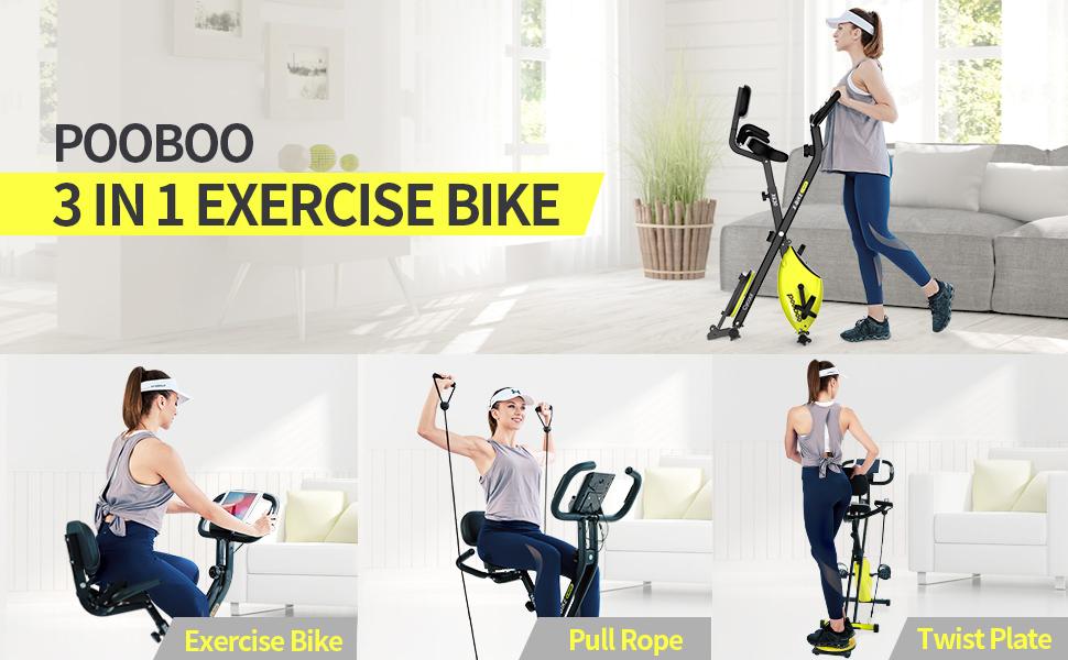 X bike Foldable Exercise Bike