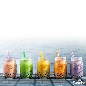 Apexy Instant Bubble Tea 5 flavors