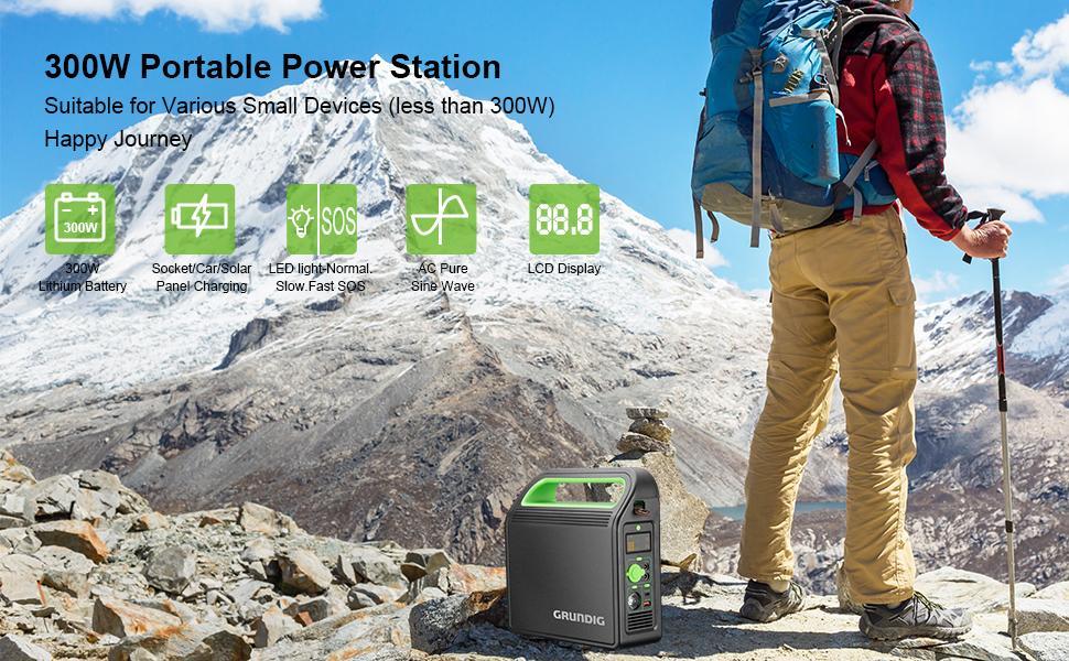 draagbare elektriciteitscentrale generator Power Station accugenerator Solar aansluitingen voor