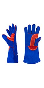 Fireproof Leather Welding Gloves