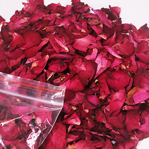 Gedroogde rozenblaadjes Real