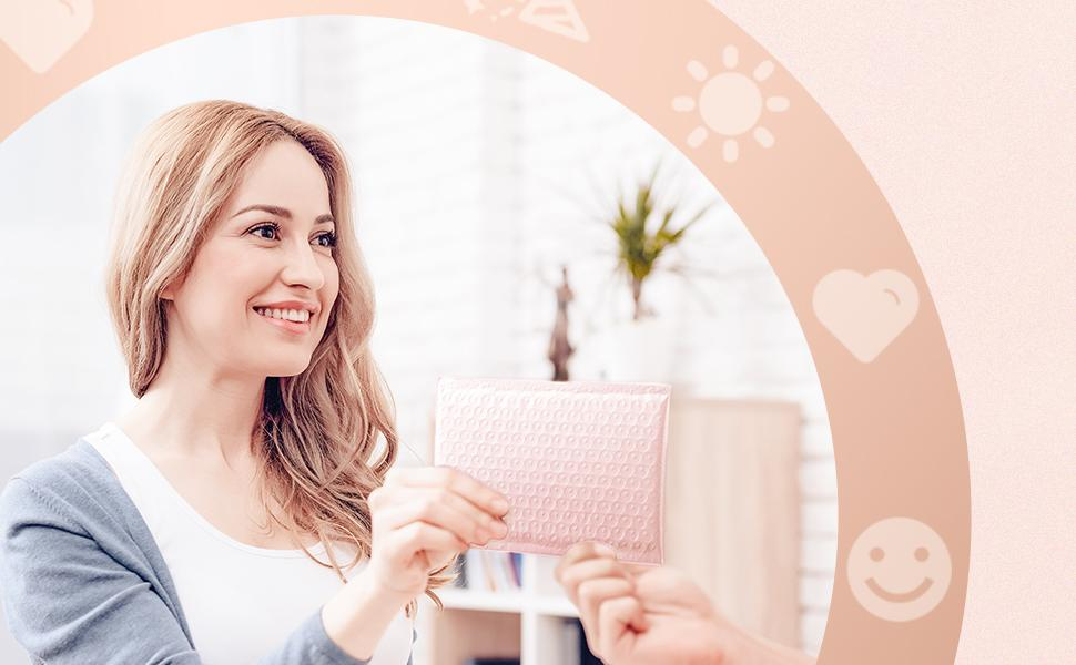 polly bubble mailers