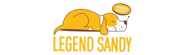 legend sandy dog toys