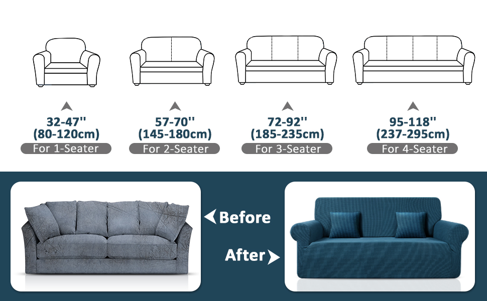 Sofa Covers 3 Seater,Sofa Protector,Stretch Sofa Slipcovers,Cover for Sofa for Pets,Couch Covers