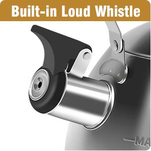 Built-in Loud Whistle