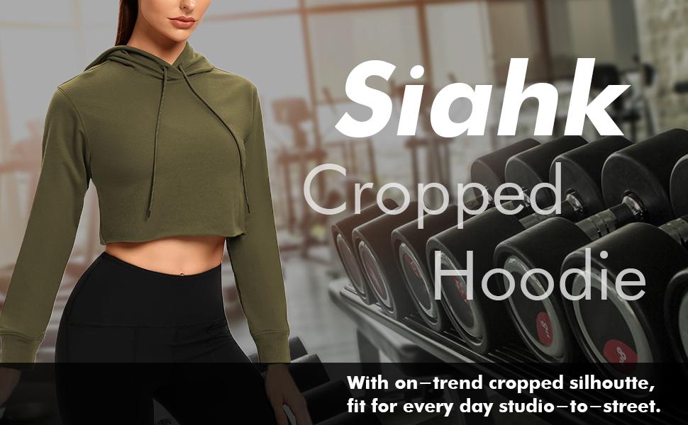 women crop top hoodies