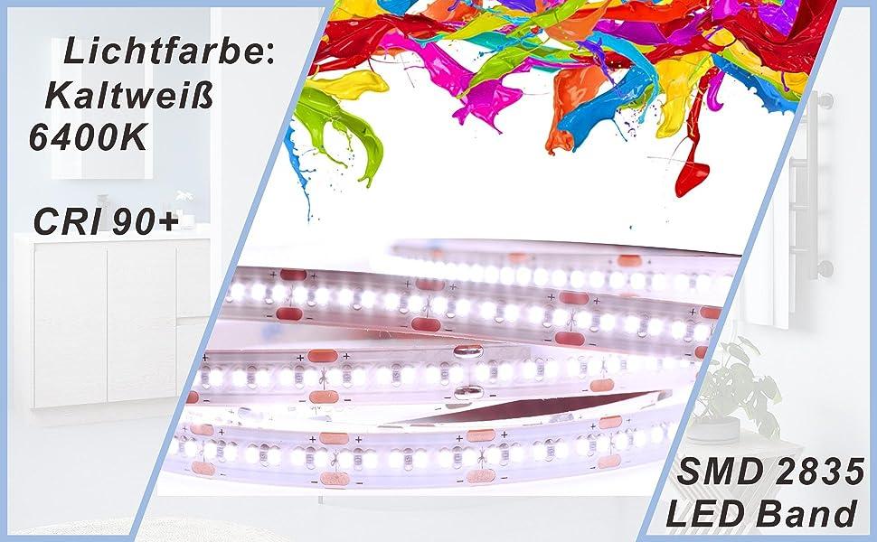Badspiegel mit LED Beleuchtung Lichtspiegel 50x70cm CANNES Typ B