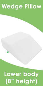 Wedge Pillow Lower Body