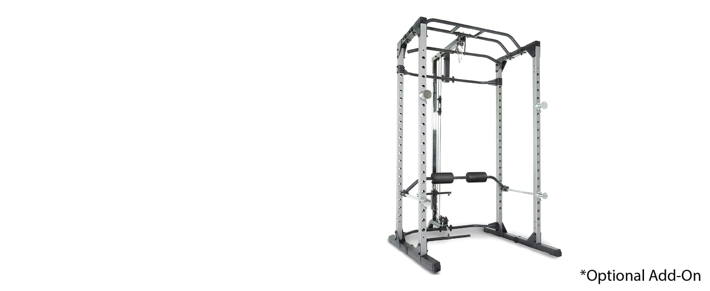 Power Cage with Lat Pull-down
