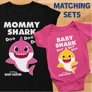 mommy shark shirt daddy shark shirt mothers day gift fathers day gift mom and dad matching outfit