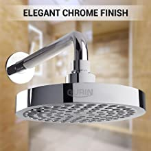 Gurin Products Elegant Chrome finish high pressure rainfall shower head replacement