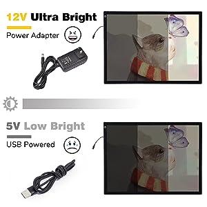 12V ultra bright tracing Tablet