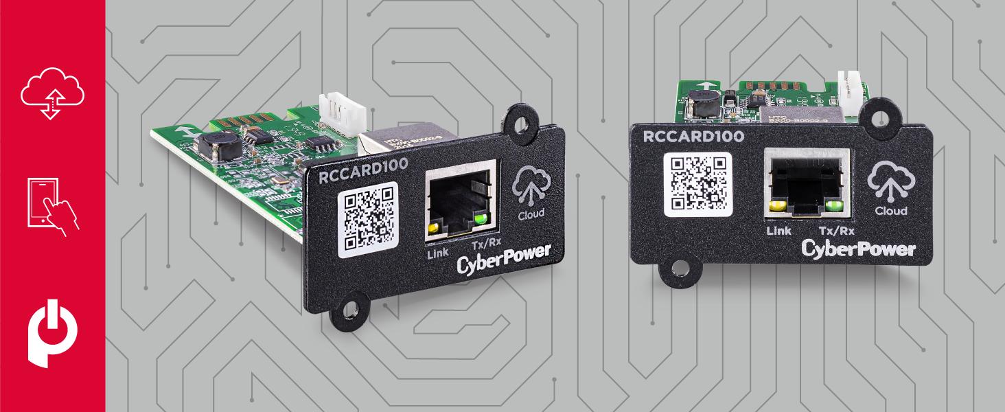 CyberPower RCCARD100 Cloud Remote Management Card via PowerPanel Cloud - Hotspots