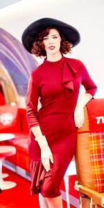Ruffle style dress